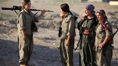 IRAQ-UNREST-PKK-WOMEN