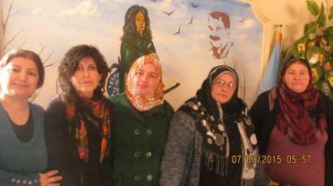 Cumpa Argentina en Kurdistan_Solidaridad internacionalista