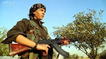 Kurdistan_Kobane_Cumpas combatientes
