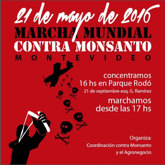 _____________________Marcha contra Monsantos