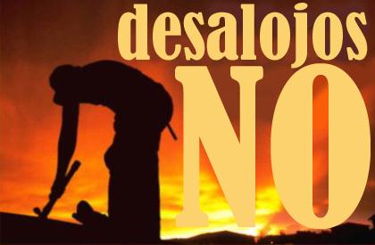 ____desalojos NO