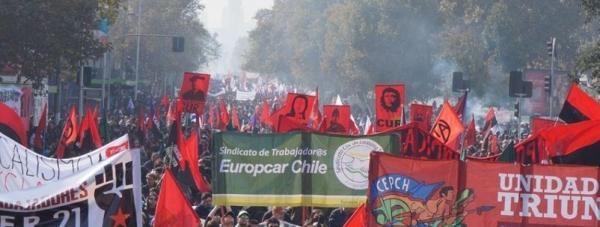___1ro de Mayo 2018 Chile