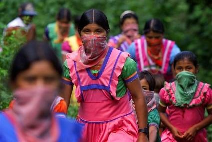 _____mujeres zapatistas en lucha