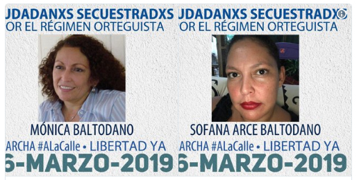 ____Nicaragua__Detenciones 16marzo2019