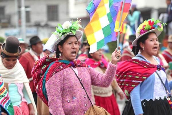 _____Bolivia_Mujer en lucha