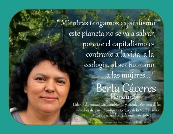 _____Berta Céceres___Honduras ___