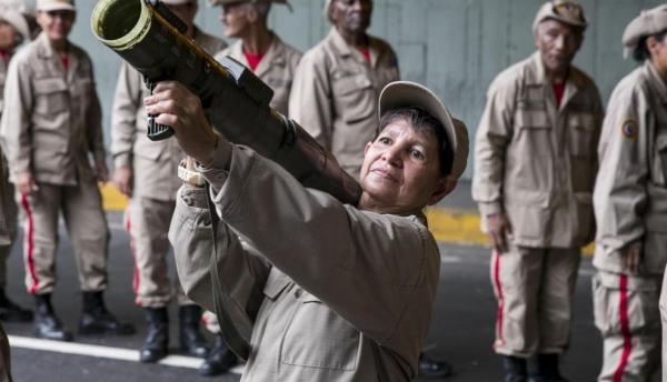 ____Resistencia antiimperialista__Milicias Venezuela