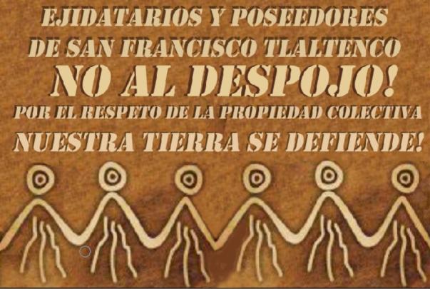 _____San Francisco Tlaltenco__SeDefiende