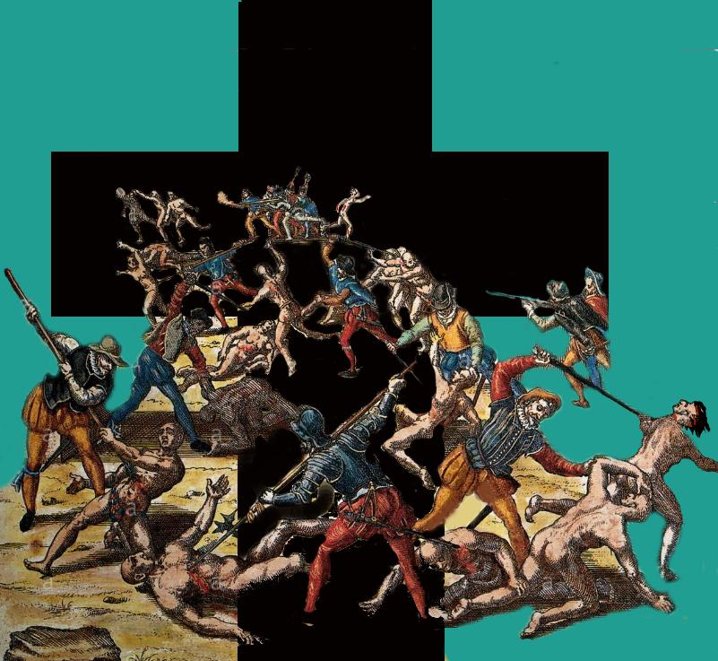 _______Genocidio colonialismo catolico__