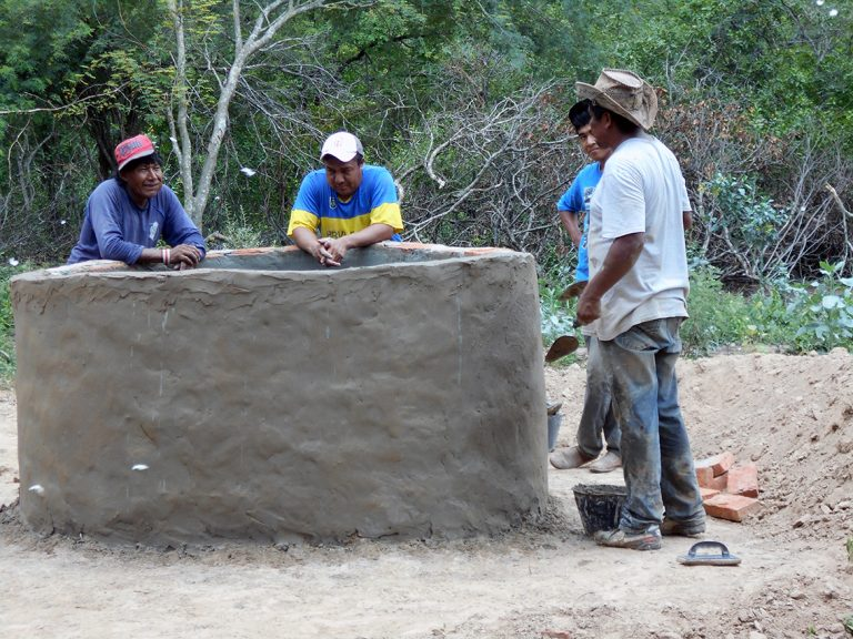 __Construcción pozo en San Cayetano__Formosa_Arg